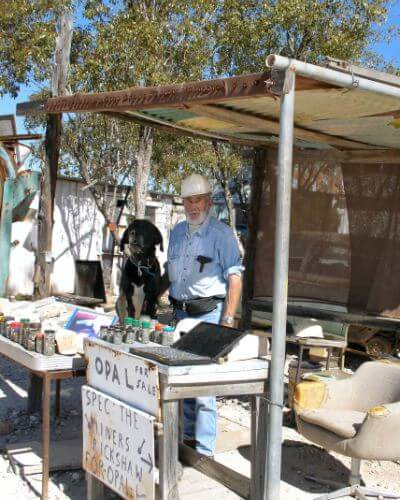 Local Opal Shop at Lightning Ridge