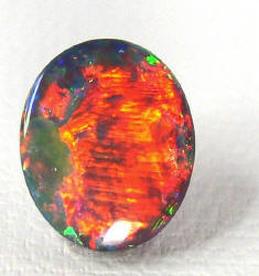 Polished Beautiful Black Opal